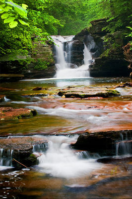 Murray Falls, Ricketts Glen State Park